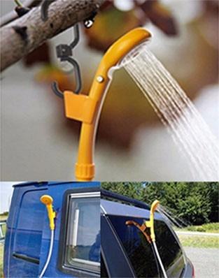 e542f9727 Chuveiro Camping Portatil Ducha Eletrica 12v Carro - R  148