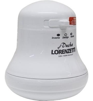 chuveiro maxi ducha  lorenzetti  branco 5500 w 220v