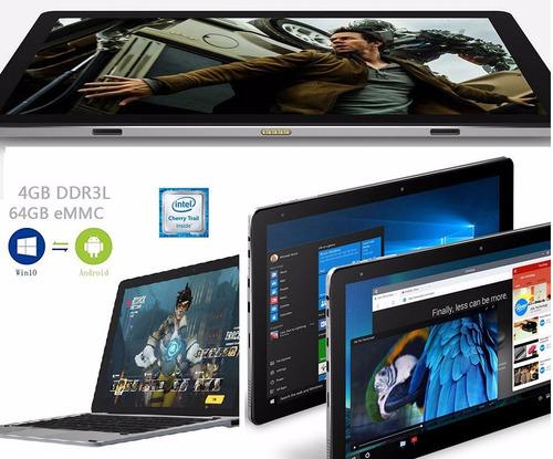 chuwi hi10 pro 2 in 1 full hd dual boot 4gb/ 64gb new