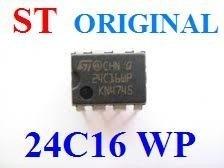 ci 24c16wp - x24c16wp - x 24c16wp - memoria - eprom original