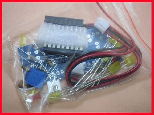 ci lm3915n kit para montar vu meter de 10 led com ic lm3915