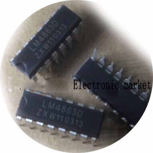ci lm4863 lm4863s dip dip-16 original 4863