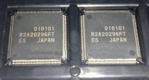 ci smd r2a20296ft  qfp-128 driver buffer lg,carta r.r$15,00