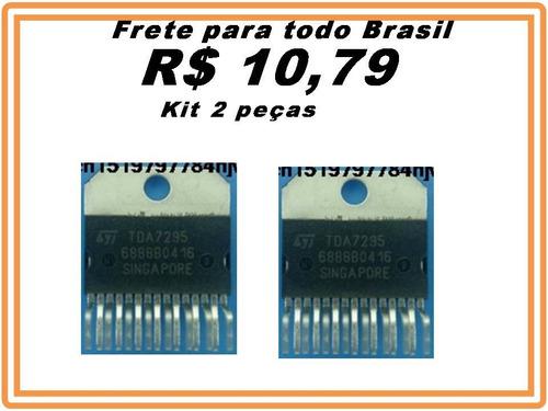 ci tda7295 tda7295  kit  2 peças promoção