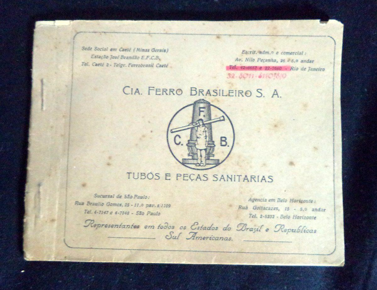 Cia Ferro Brasileiro Tubos E Peças Propaganda Antiga - R  25,00 em ... 3e056a395d