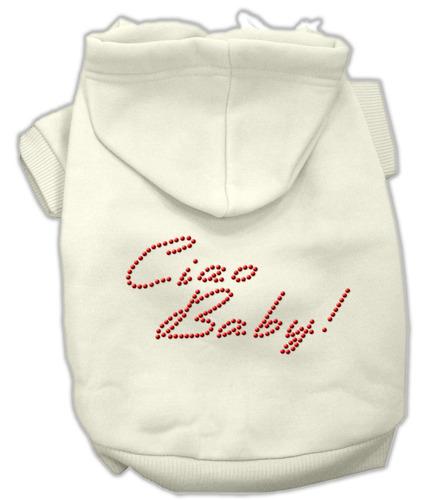 ciao bebé hoodies crema s (10)