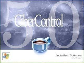 ciber control 5.0 pro servidor + cliente español original
