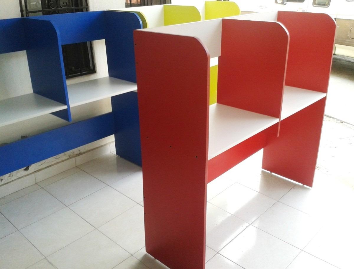 Ciber mueble doble economico funcional fabricamos for Muebles para cafeteria precios