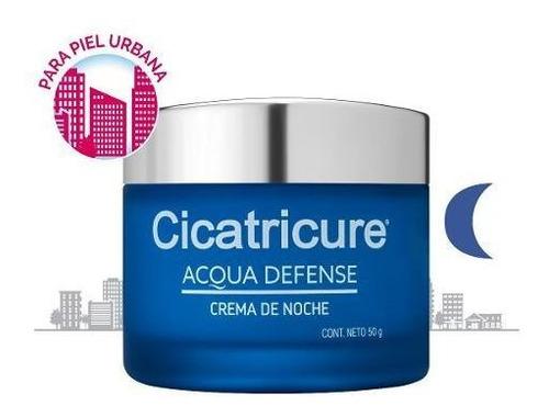 cicatricure acqua defense crema de noche x 50g
