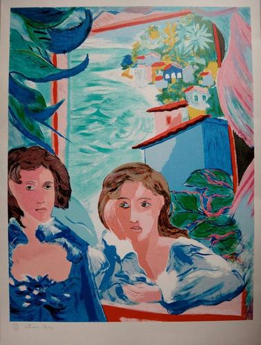 cícero dias - serigrafia - mulheres de recife - maravilhosa!