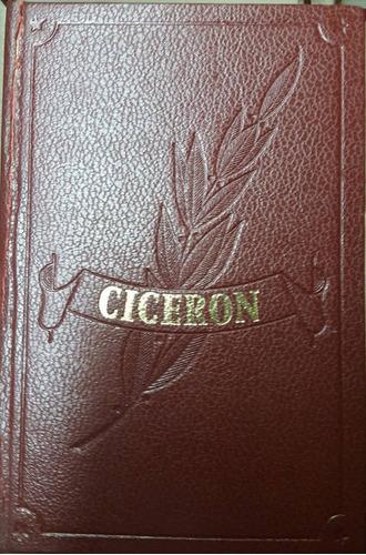 ciceron - obras inmortales edaf - con caja original