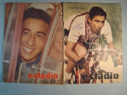ciclismo  1947 - 1963. revistas estadio (4)