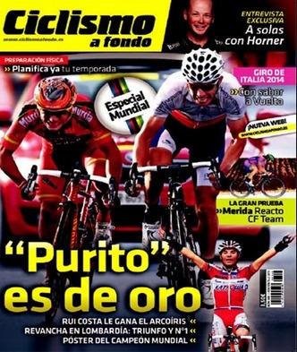 ciclismo a fondo - 348/2013, revista.  purito no se rinde