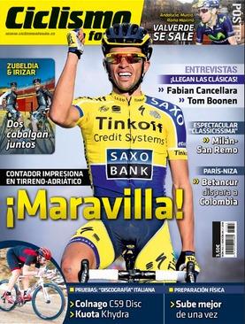 ciclismo a fondo - 353/2014, revista.  contador maravilla