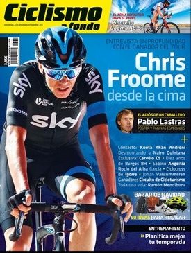 ciclismo a fondo - 374/2016.  revista. froome