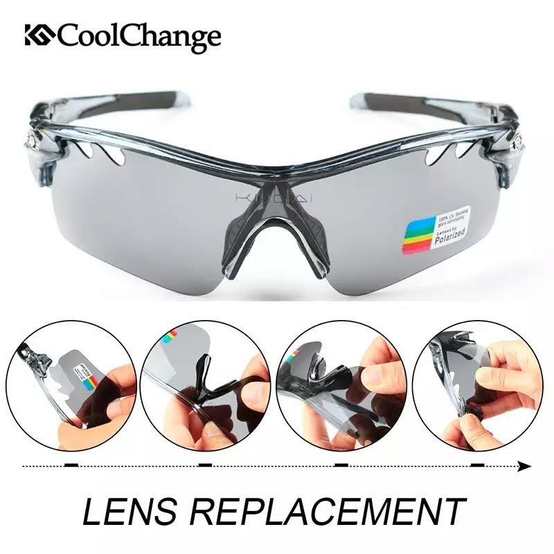 3667be24940d7 Carregando zoom... óculos ciclismo 5 lentes uv + polarizado + grau ...