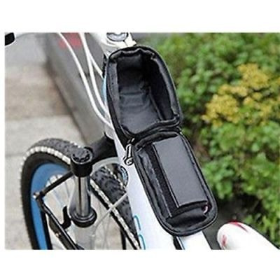 ciclismo bicicleta marco bolsa bicicleta pannier tubo