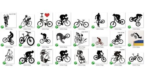 ciclismo esportes adesivos