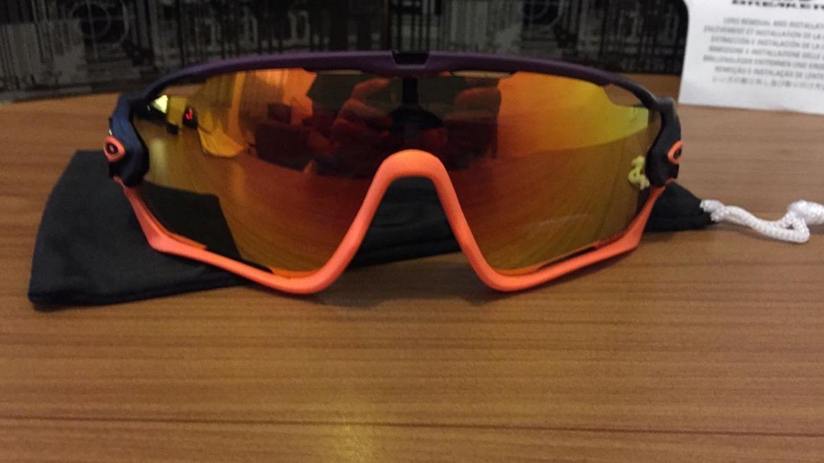 678d59b0ae Óculos Ciclismo Oakley Jawbreaker 5 Lentes Com Clip De Grau - R$ 199 ...