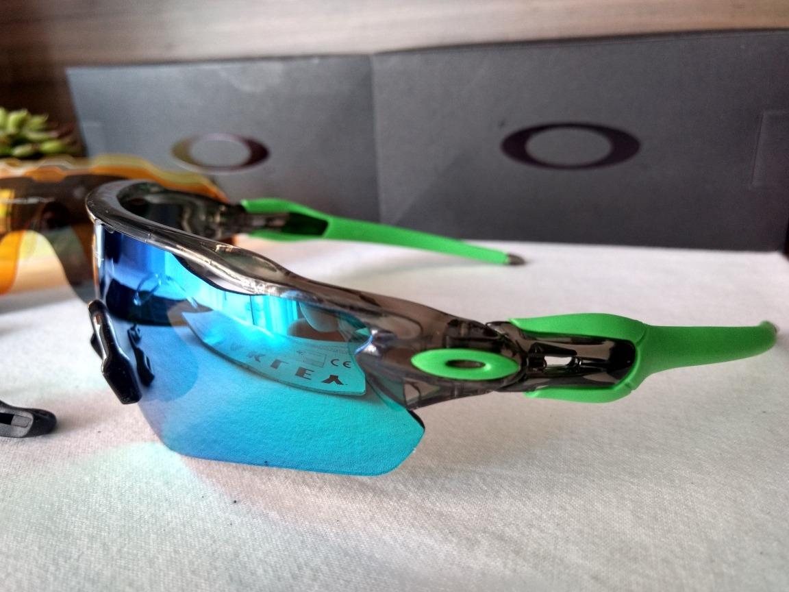 Óculos De Sol Esportivo Ciclismo Oakley Radar - R  189,00 em Mercado Livre e46894ffc2