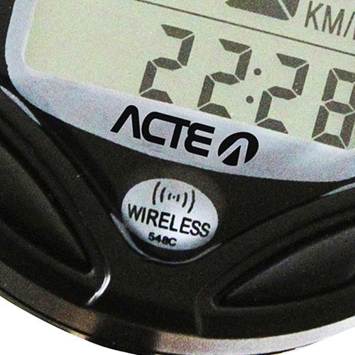 ciclo computador sem fio bicicleta 16 funções prova d'água