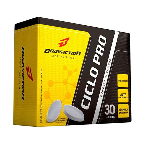 ciclo pro 30 tabletes (complex activador) - body action
