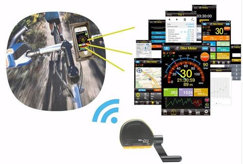 ciclocomputador bluetooth 4.0 celular cadencia velocidad