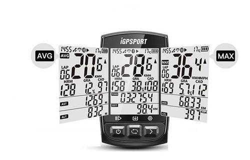 ciclocomputador gps igpsport igs50 inalambrico (com garmin )