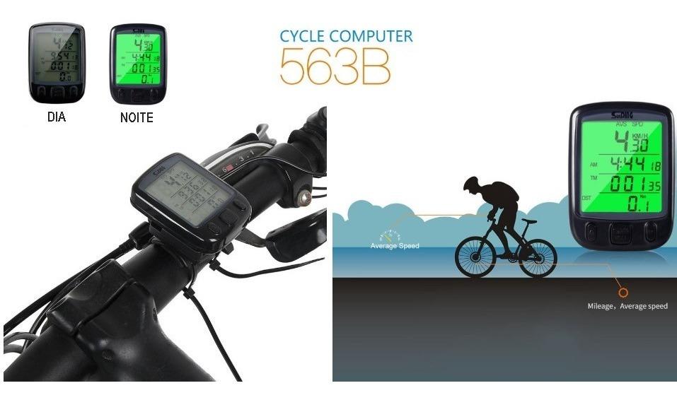 7e8a77aaf Ciclocomputador Velocimetro P/ Bike Led E Termômetro Barato - R$ 99 ...