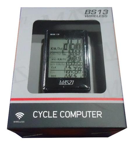 ciclocomputadora bicicleta mazzi b213  inalambrica - racer