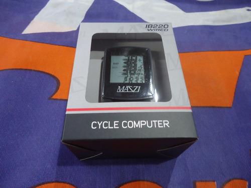ciclocomputadora bicicleta mazzi ib220 calorias temperatura