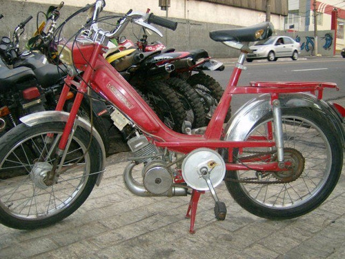 ciclomotor cady 50cc - 1968 -original pra coleção