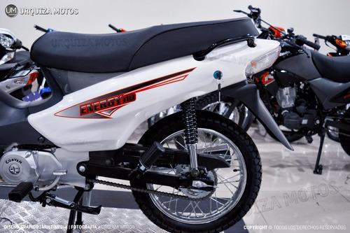 ciclomotor cub corven energy 110 base 0km urquiza motos