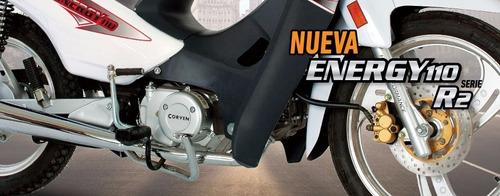 ciclomotor cub corven energy r2 110 full 0km urquiza motos