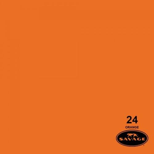 ciclorama de papel orange / naranja #24 savage