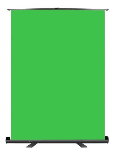 ciclorama pantalla verde portatil video chroma key twich youtube gameplay