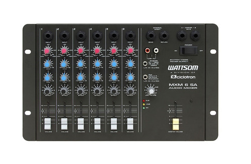 ciclotron wattsom mxm6 sa mesa de som 6 canais