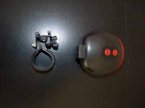 ciclovia virtual bike laser lanterna traseira luz pisca pisc