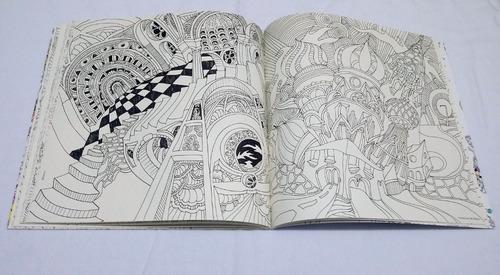 cidade mágica livro de colorir e de caça ao tesouro