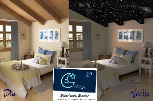 Cielo estrellado en su habitacion estrellas en techo for Simulador habitacion 3d