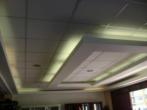 cielo raso de baldosa y drywall s/. 55 m2 a todo costo