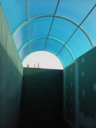 cielo raso- drywall - techos en policarbonato - sol y sombra