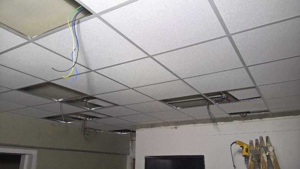 Cuanto cuesta el m2 de techo desmontable averia visible - Cuanto cuesta una pared de pladur ...