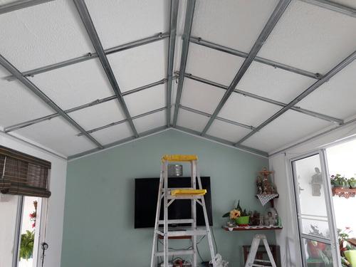 cielo rasos y muros drywall, superboard, pvc