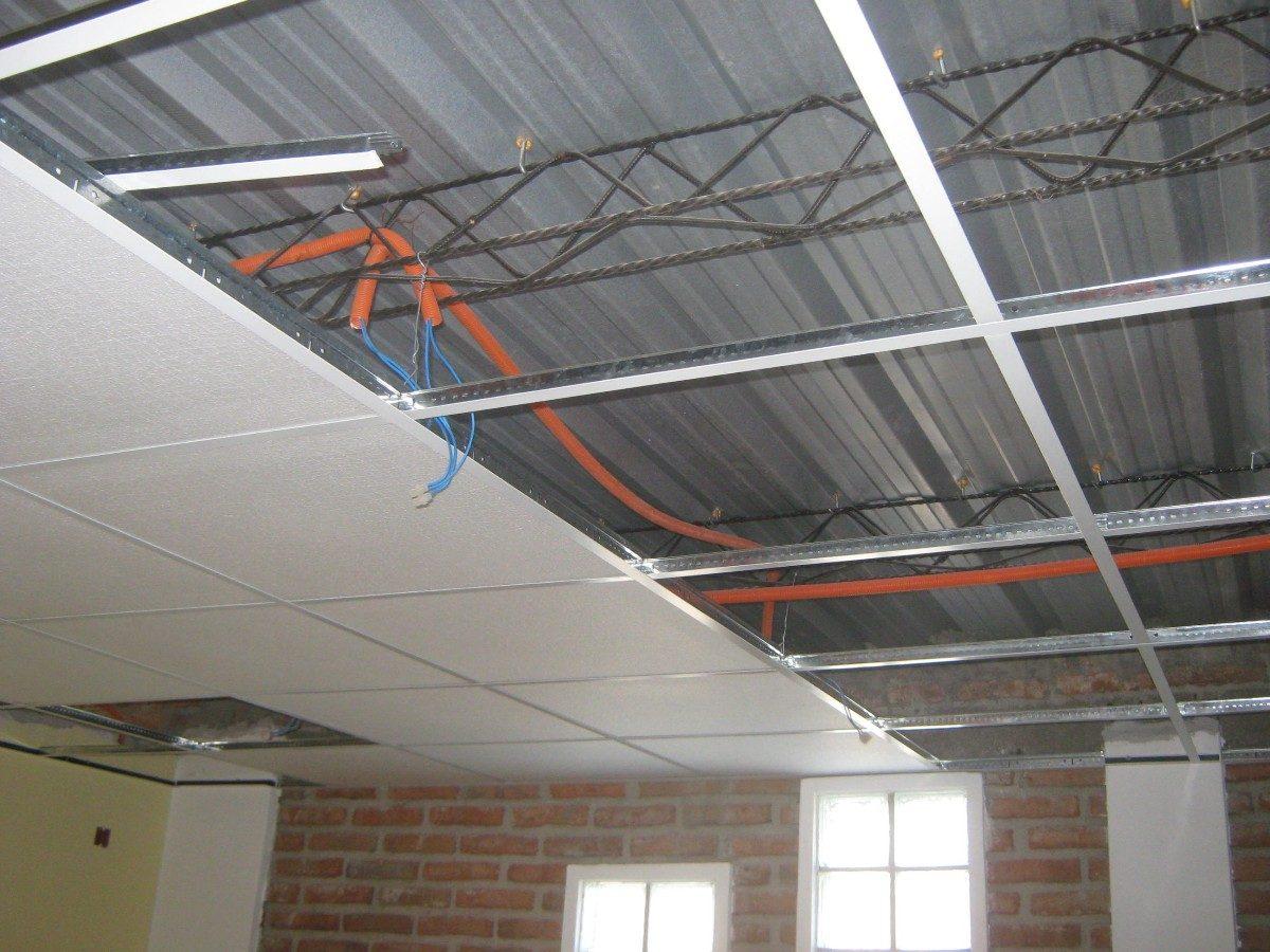 Cielorraso completo para casas y es pvc es for Perfiles techo desmontable