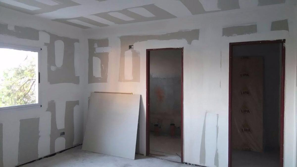 Cielorraso De Placa De Yeso Durlock Listo Para Pintar 10 00 En  # Muebles Durlock Paso A Paso