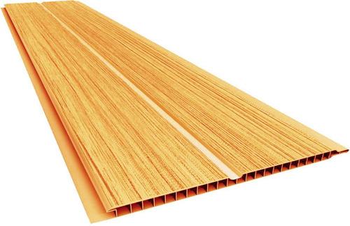 cielorraso de pvc color - natural - imitación madera