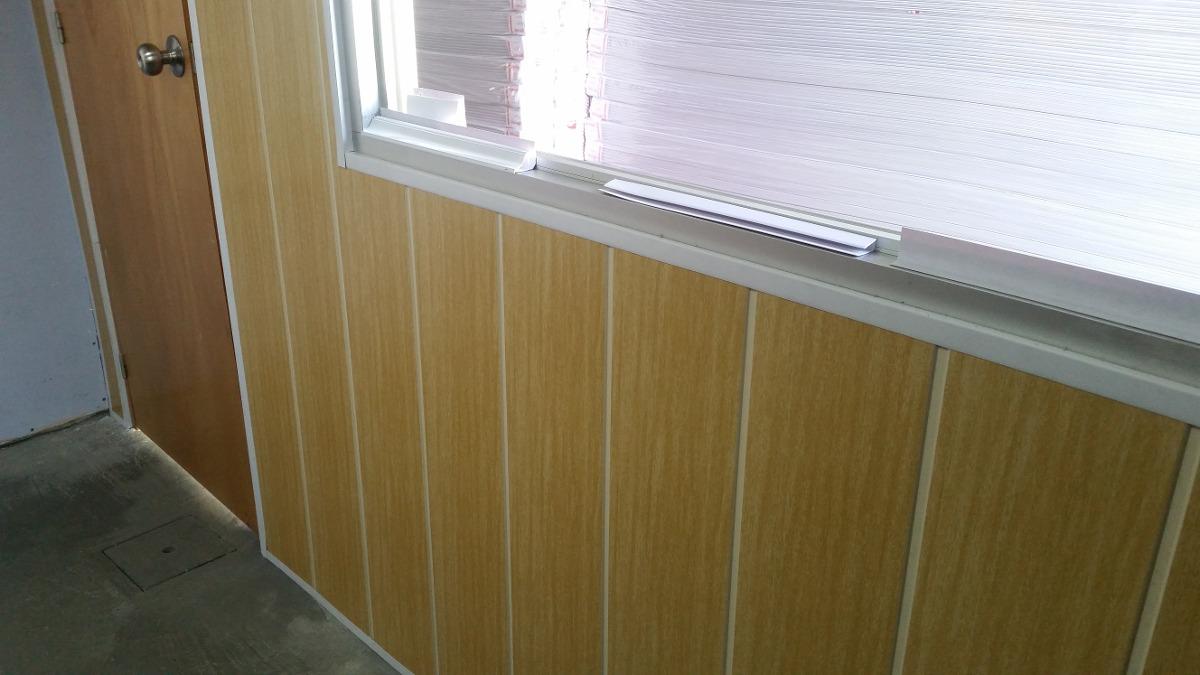 Cielorraso de pvc color nogal imitaci n madera 299 - Pvc imitacion madera ...