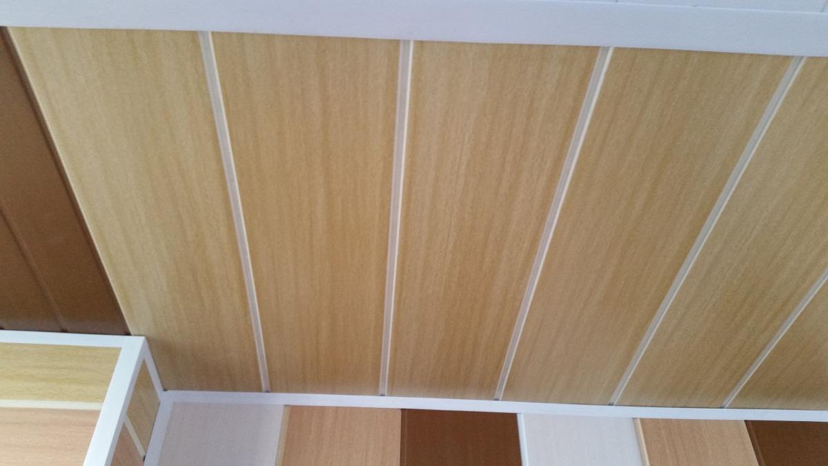 Cielorraso de pvc color nogal imitaci n madera 299 - Color nogal en madera ...