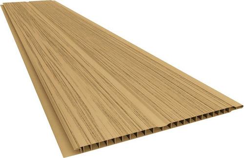 cielorraso de pvc lote - color - castaño - imitación madera